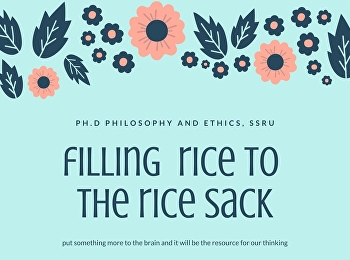 FILLING RICE TO THE RICE SACK