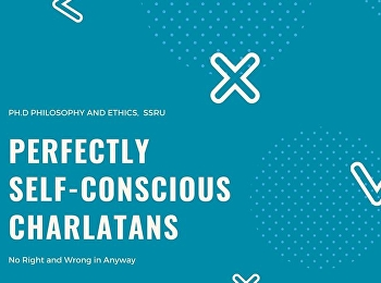 Perfectly self-conscious charlatans
