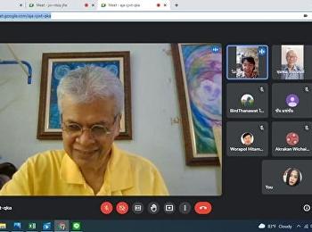 บรรยากาศการเรียนการสอนออนไลน์วันที่ 15 สิงหาคม 2564  วิชาตรรกศึกษา โดย ดร.รวิช ตาแก้ว